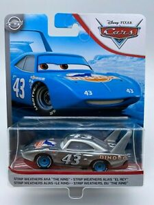 Disney-Pixar-Cars-Diecast-The-King-Silver-Collection-034-VHTF-034