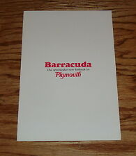 Original 1964 Plymouth Barracuda Sales Brochure 64