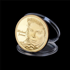The-King-of-Michael-Jackson-Commemorative-Coins-Gold-Plated-Coin-Souvenir-XW
