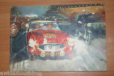 Wakefield Castrol 1962 Achievements Booklet LSR Mini Rally Monte Carlo etc