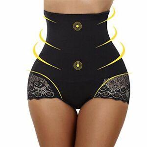 Talla Grande S 3xl Faja Reductora Encajes Alta Mujer Control Pantalones Ropa Ebay