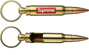 Image Is Loading 2 Supreme Logo Bullet Bottle Openers And Keychain