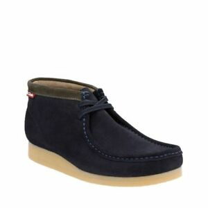 Clarks Stinson Hi Men S Shoes Dark Navy