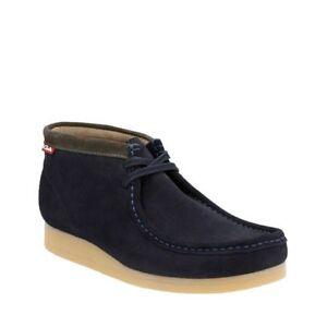 Clarks Stinson Hi Men S Shoes Dark Navy