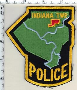 Indiana Township Police (Pennsylvania) Shoulder Patch from 1999
