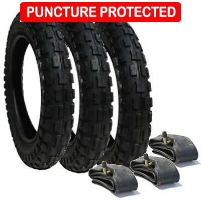 Phil and Teds Navigator Tyre And Tube Set HS140 Puncture Protected x 2