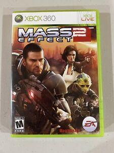 Mass Effect 2 XBOX 360 Complete In Case W/ Manual CIB