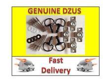 4 x Black Dzus Fasteners Quarter Turn17 mm D ring 4 x DZUS 6 mm clip /& washers