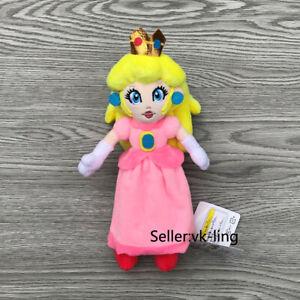 Mario-Bros-Super-Peluche-Principessa-Toadstool-Peach-8-034-BELLISSIMI-PELUCHE-giocattolo-bambola