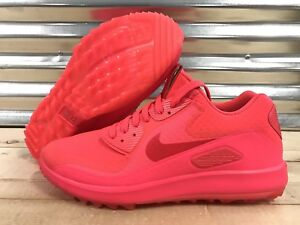 de848fb65289a Nike Air Zoom 90 IT Golf Shoes Solar Red Neon Pink Rory SZ ( 844569 ...