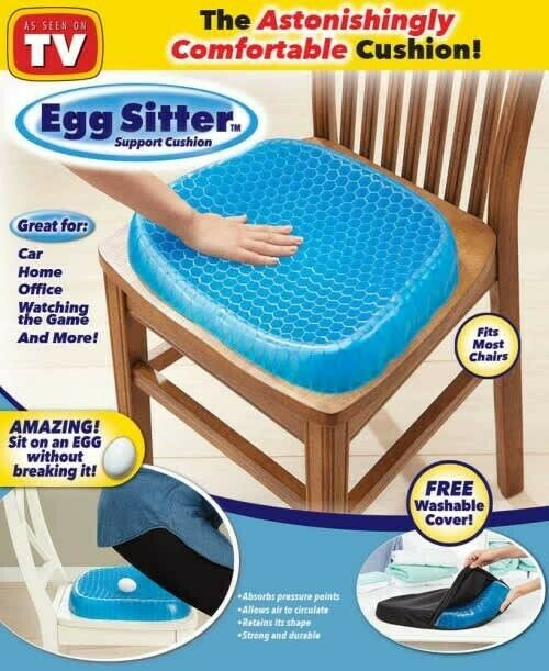 New! Egg Sitter Support Cushion