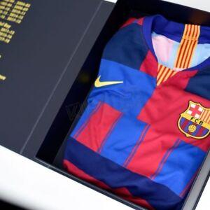 6813ed428e2 Image is loading Barcelona-20th-Anniversary-Vapor-Match-jersey-Messi-Barca