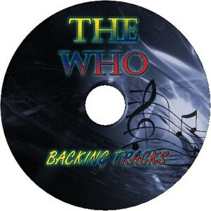 THE-WHO-GUITAR-BACKING-TRACKS-CD-BEST-GREATEST-HITS-MUSIC-PLAY-ALONG-MP3-ROCK