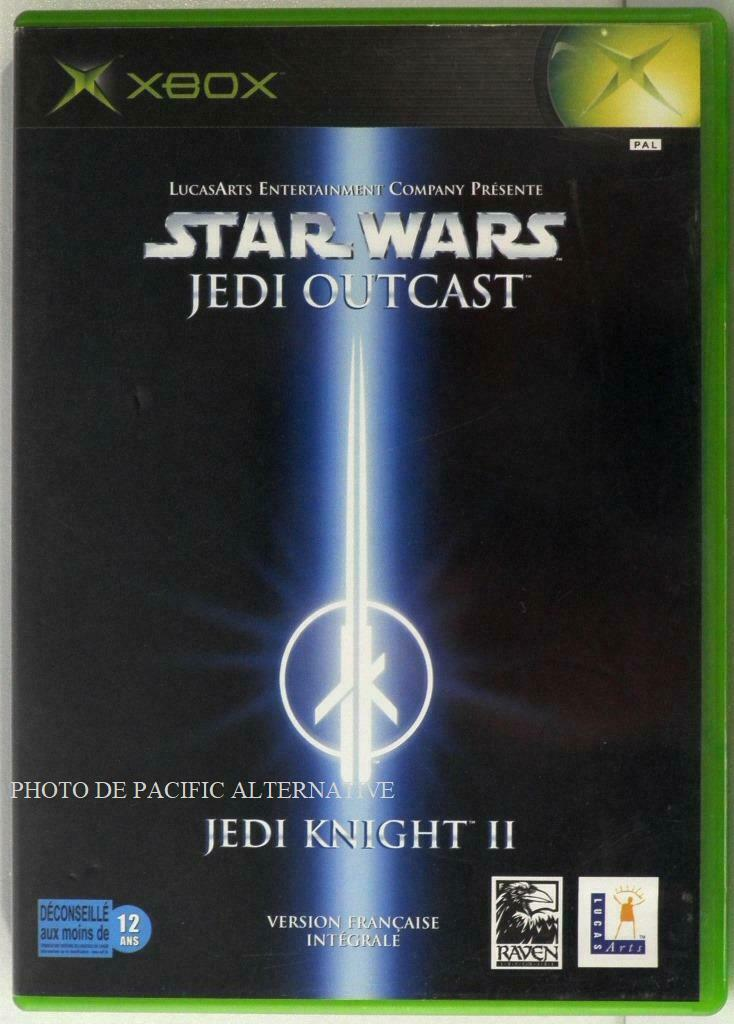 jeu STAR WARS JEDI OUTCAST JEDI KNIGHT II 2 - Bonne affaire StarWars