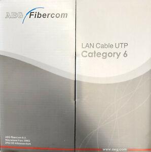 GermanAEG-CAT-6-305M-UTP-1000-feet-roll-Ethernet-LAN-Network-Cable-10-100-1000MB