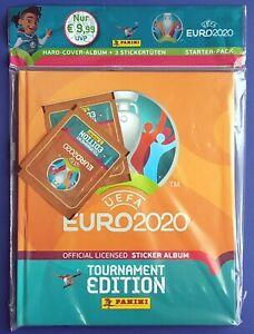 Panini UEFA EURO 2020 Tournament Edition Orange Hardcover Starterpack / Album DE