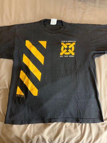 Type O Negative XL Shirt Vintage Carnivore NYHC Bl