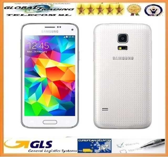 TELEFONO MOVIL SAMSUNG S5 MINI SM-G800F BLANCO NUEVO CAJA ABIERTA + FACTURA