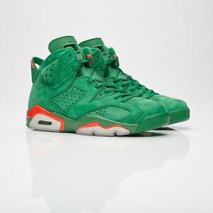 61568d475b0241 Nike Air Jordan 6 Retro NRG Suede Green GATORADE AJ5986-335 ...