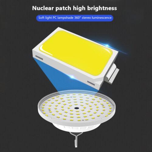 60W 120 LED Outdoor Camping Tent Light USB /& Solar Lantern Hiking Lamp