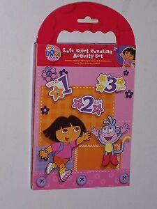 Dora the Explorer Lets start Counting activity set