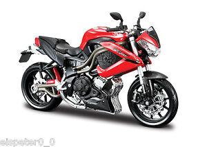 BENELLI-TORNADE-Nu-Tre-R160-Maisto-Moto-Modele-1-12-emballage-d-039-origine