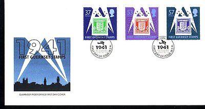 intern:doku: 403 Gb Neueste Technik Guernsey Fdc Michelnummer 513-515