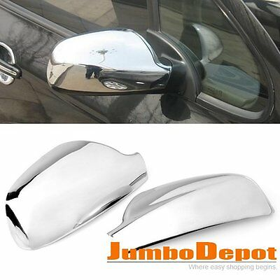 Chrome Mirror Cover Trim for Peugeot 307 307CC SW 407 2004 2005 2006 2007 2008