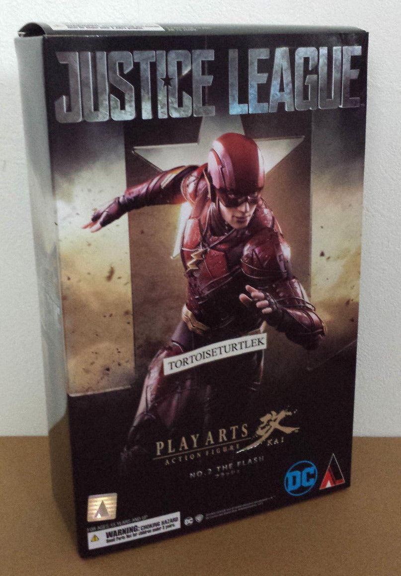 Square Enix Play Arts Kai Kai Kai JUSTICE LEAGUE FLASH Action Figure DC f30c51