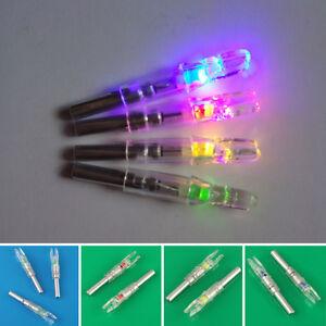 3-CHASSE-LED-NOCK-lumineux-COMPOSANT-Arc-Fleche-VERGUE-couleurs-parties