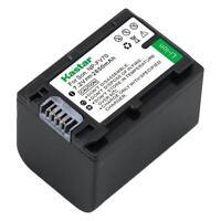 Np-fv70 Battery For Sony Dcr-sx65 Sx83 Sx85, Fdr-ax100, Dev-3 Dev-5 Dev-50