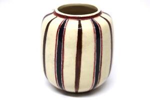 50er-Jahre-Majolika-Vase-Sig-EJ-wohl-ELIN-JUSELIUS