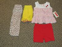 Girl's Spring And Summer Fisher Price Clothing Lot Size 6-9 Months
