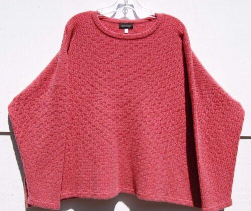 Eskandar S O Strik Mellemvægt 1890 Sweater Cashmere Tekstureret Melon 1wgrq10U