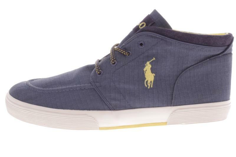 Mens Large Size Ralph Lauren Polo Federico bluee shoes 16 D..351A