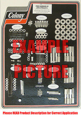 Harley 71-up BT /& XL Points Cvr Screw Set Colony 8402-2