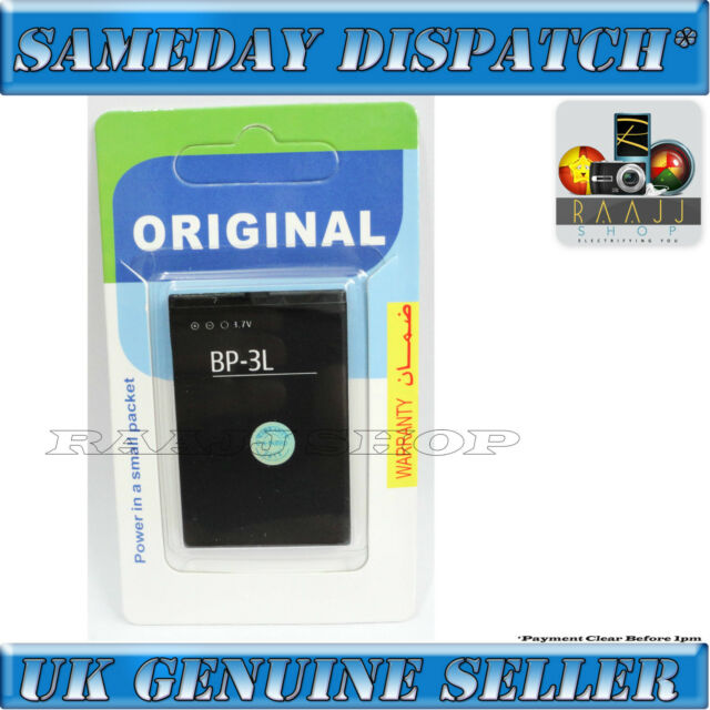 High Capacity Bp-3l Battery for Nokia 603 801t Asha 303 LUMIA 510 610