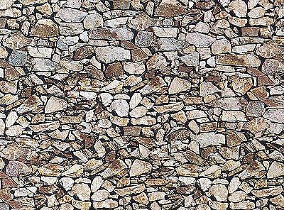 (57,28 €/m²) Faller 170610 Muro Piastra Pietra Naturale Monzonit, 250 X 125 Mm, Nuovo-mostra Il Titolo Originale Comodo E Facile Da Indossare