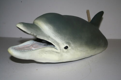 or Present Floating DOLPHIN HEAD Fountain DOLPHIN GIFT Lovely Pond Ornament