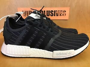 1c782d627a045 Image is loading Adidas-NMD-R1-Bedwin-Black-White-The-Heartbreakers-