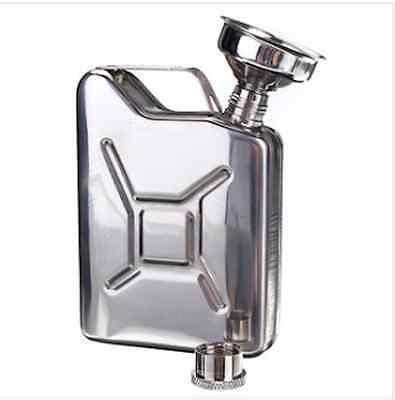 Portable 5oz Stainless Steel Mini Hip Flask Liquor Whisky Pocket Bottle With