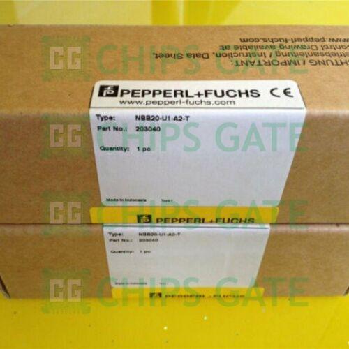 1PCS Brand New Pepperl+Fuchs NBB20-U1-A2-T Fast Ship