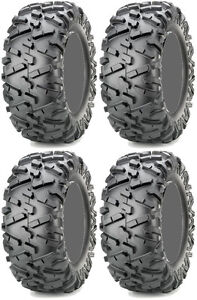 Four-4-Maxxis-Bighorn-2-0-ATV-Tires-Set-2-Front-26x9-14-amp-2-Rear-26x11-14
