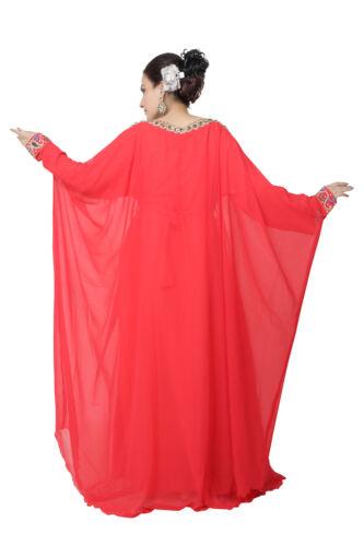 Lo stile degli Emirati Arabi Uniti donna araba Maxi arabo islamico abito caftano abito lungo KAF-2938