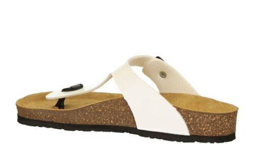 femmes blanches Sandales pour piscine sur piscine de plage et la blanches avec Tamaris bordures q5wOF6x5R