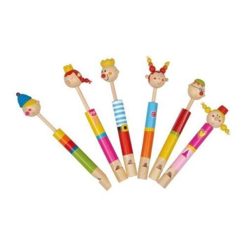 Holzspielzeug Lotusflöte König Flöte bunt Blockflöte Kinder Kinderflöte Holz Geschenkidee NEU