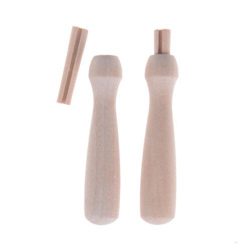 2Pcs Wooden Handle for Felting Needles Pin Tools Of Felt Of Wool Pins 2018 Pip