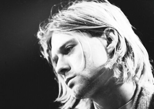 Kurt Cobain Poster Cool Nirvana Singer Quality Large CHOOSE YOUR SIZE FREE P+P