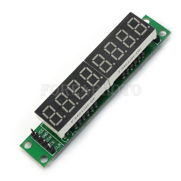 5V MAX7219 8-Digit Red LED Display Module 7 Segment Digital Tube For Arduino MCU