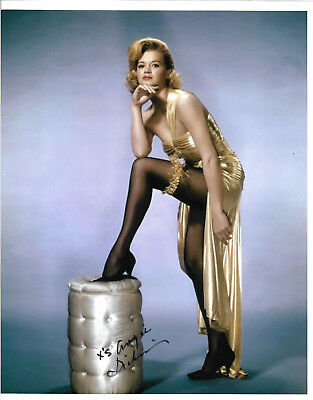 Angie Dickinson Authentic Signed 8x10 Photo Autographed Actress Goods Of Every Description Are Available Photographs